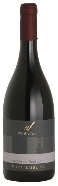 2016 Lemberger Regnum trocken TURIS 0,75 L – Weingut Will und Würz