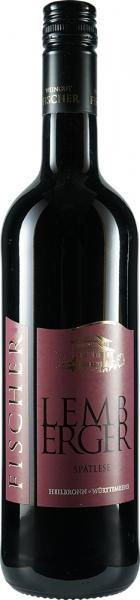 2018 Lemberger Spätlese 0,75 L halbtrocken - Weingut Fischer