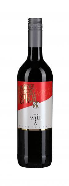 2018 DEN WILL i Trollinger 0,75 L Rotwein halbtrocken - Weingärtnergenossenschaft Aspach