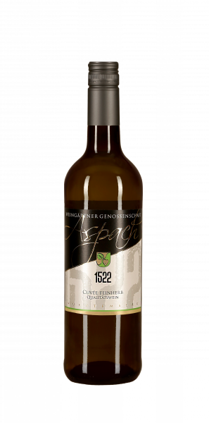 2019 Cuvée feinherb 1522 0,75 L Weisswein - Weingärtnergenossenschaft Aspach