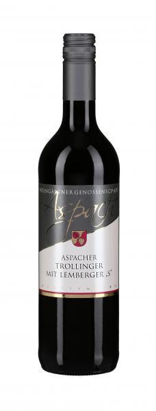 2018 Trollinger mit Lemberger S 0,75 L halbtrocken - Weingärtnergenossenschaft Aspach