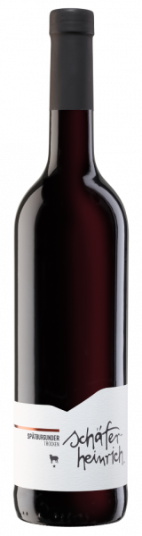 2019 Spätburgunder trocken * Bio 0,75 L Heilbronner Staufenberg - Schäfer-Heinrich Ökologisches Wein