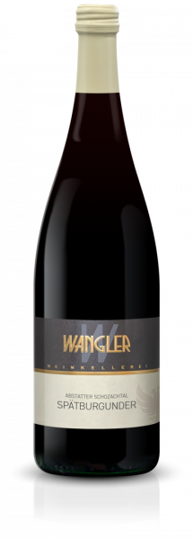 2019 Spätburgunder halbtrocken 1,0 L Abstatter Schozachtal - Weinkellerei Wangler