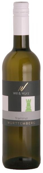 2018 Traminer lieblich Ed.18 TURIS 0,75 L – Weingut Will und Würz