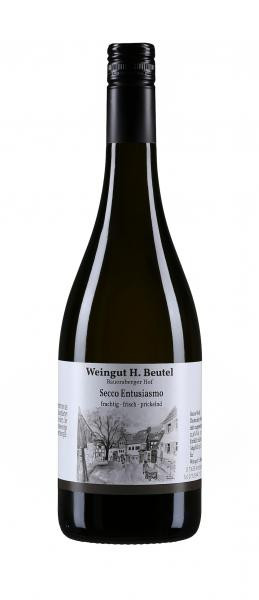Secco Entusiasmo 0,75 L - Weingut H.Beutel
