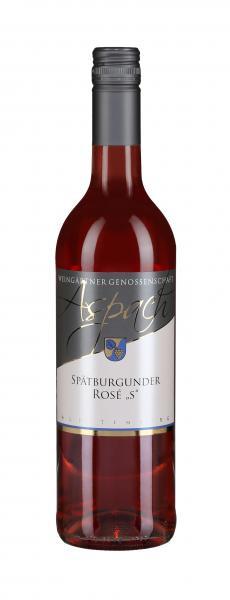 2018 Spätburgunder Rosé S 0,75 L GENUSS - Weingärtnergenossenschaft Aspach