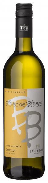 2019 Blanc de Blancs lieblich Weißwein Cuvée 0,75 L - Lauffener Weingärtner