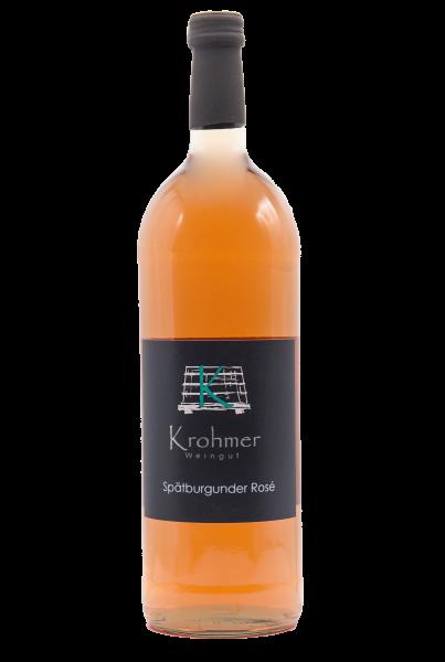 2020 Spätburgunder Rosé 1,0 L halbtrocken - Familie Krohmer