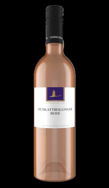 2020 Muskattrollinger Rosé 0,75 L lieblich - Lembergerland