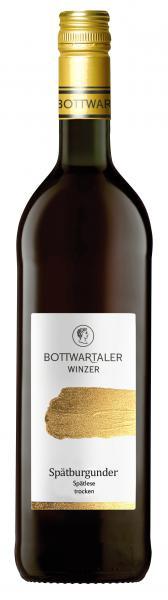 2018 Spätburgunder trocken Spätlese 0,75 L PREMIUM - Bottwartaler Winzer