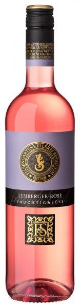 Lemberger Rosé 0,75 L FRUCHTIG & SÜSS - Felsengartenkellerei