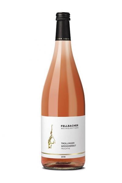 2020 Trollinger Weißherbst 1,0 L fruchtig - Fellbacher Weingärtner