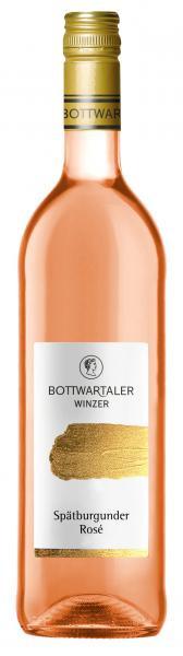 2019 Spätburgunder Rosé 0,75 L PREMIUM - Bottwartaler Winzer