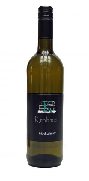 2020 Muskateller 0,75 L fruchtig - Familie Krohmer