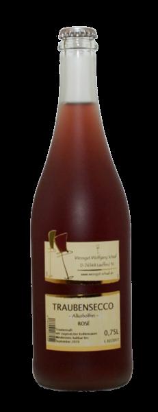 Traubensecco Rosé 0,75 L alkoholfrei - Weingut Schaaf