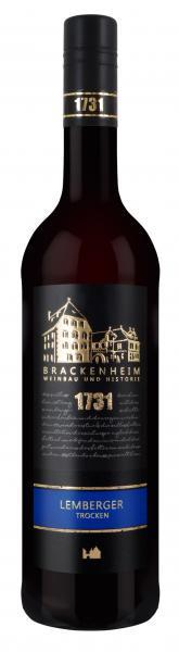 2018 Lemberger trocken 0,75 L Schloss Brackenheim - Weingärtner Stromberg-Zabergäu