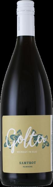 2017 Samtrot feinherb 1,0 L - Weingut Golter