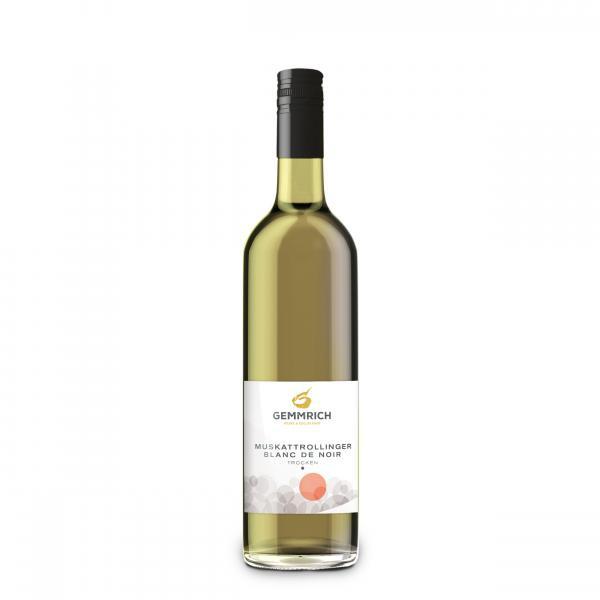 2017 Muskattrollinger Blanc de Noir trocken 0,75 L - Weingut & Edelbrennerei Gemmrich