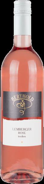 2019 Lemberger Rosé trocken * 0,75 L - Weingut Berthold