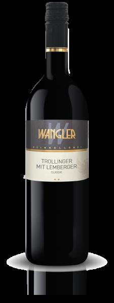 2019 Trollinger mit Lemberger 0,75 L Classic - Weinkellerei Wangler