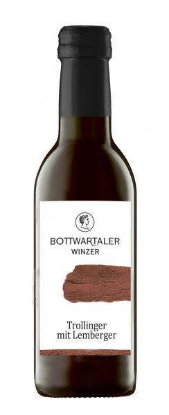 Trollinger mit Lemberger 0,25 L halbtrocken - Bottwartaler Winzer