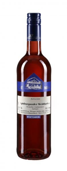 2017 Spätburgunder Weißherbst Kabinett 0,75 l - Weingut Möhle