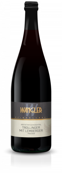 2020 Trollinger mit Lemberger trocken 1,0 L Abstatter Schozachtal - Weinkellerei Wangler