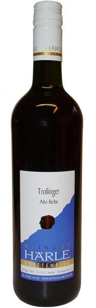 2018 Trollinger alte Rebe 0,75 L halbtrocken - Weingut Härle