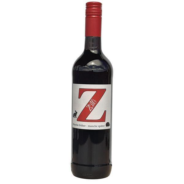 Manche früher - Manche später 0,75 L Rotwein trocken - Weingut Zaiß