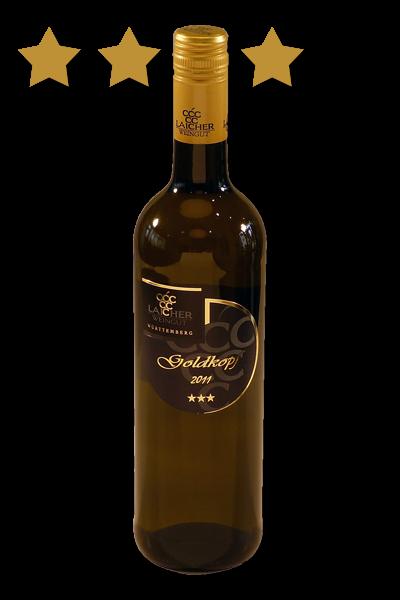 2020 GOLDKOPF Weißwein Cuvée trocken *** 0,75 L – Weingut Laicher