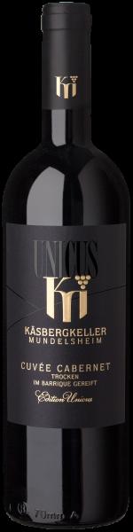 2017 Cuvée Cabernet trocken UNICUS 0,75 L - Käsbergkeller Mundelsheim