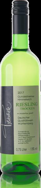 2017 Riesling trocken Akazienfass Gundelsheimer Himmelreich 0,75 l - Weingut Politschek