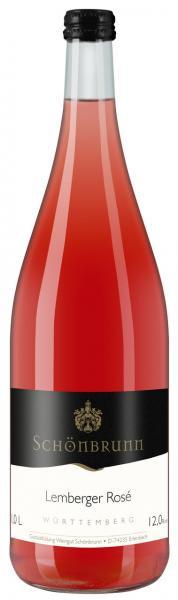 2019 Lemberger Rosé feinherb 1,0 L TRADITION - Weingut Schönbrunn