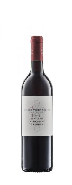 2018 Lemberger trocken 0,75 L TRADITION - Sankt Annagarten Biologisches Weingut