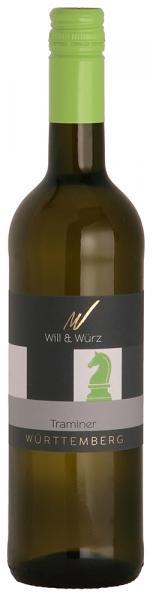 2017 Traminer EQUES 0,75 L – Weingut Will und Würz
