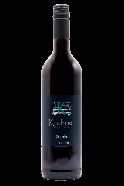 Samtrot 0,75 L - Familie Krohmer