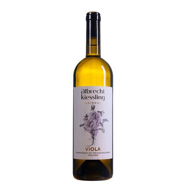 2020 VIOLA Chardonnay mit Weißburgunder trocken 0,75 L Weißwein – Weingut Albrecht-Kiessling