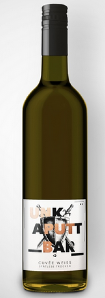 2019 UNKAPUTTBAR Cuvée Weiß trocken * 0,75 L Weisswein - Weingut und Edelbrennerei Gemmrich