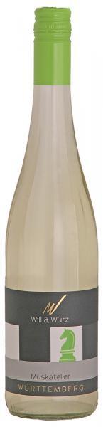 2019 Muskateller EQUES 0,75 L – Weingut Will und Würz