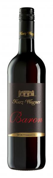 BARON Rotweincuvée trocken im Holzfass gereift 0,75 L - Weingut Kurz-Wagner