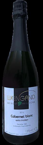 2018 Cabernet blanc trocken 0,75 L Deutscher Sekt - Weingut Weingand