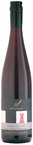 2015 Spätburgunder trocken Alte Reben TURIS 0,75 L – Weingut Will und Würz