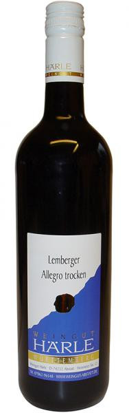 2019 Lemberger trocken 0,75 L ALLEGRO - Weingut Härle