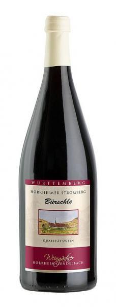 Bürschle 1,0 L Rotwein halbtrocken - Weingärtner Horrheim-Gündelbach
