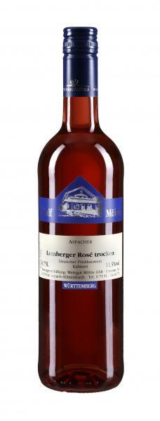 2018 Lemberger Rosé trocken 0,75 L Spätlese - Weingut Möhle