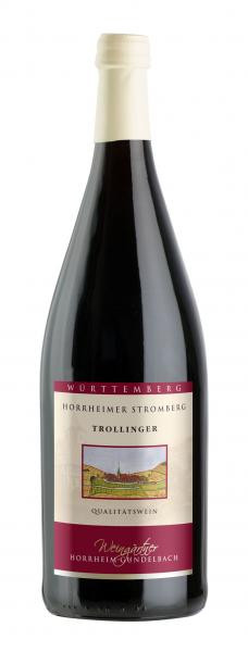 2019 Trollinger halbtrocken 1,0 L - Weingärtner Horrheim-Gündelbach
