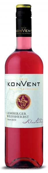 2020 Lemberger Weißherbst trocken 0,75 L KLOSTERHOF - Weinkonvent Dürrenzimmern