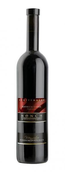 2015 Rotwein Cuvée trocken MÖNCH 0,75 L im Eichenfass gereift - Weingärtner Horrheim-Gündelbach