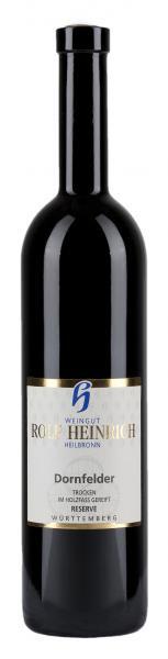 2015 Dornfelder Qualitätswein trocken Reserve, 0,75 l - Weingut Rolf Heinrich