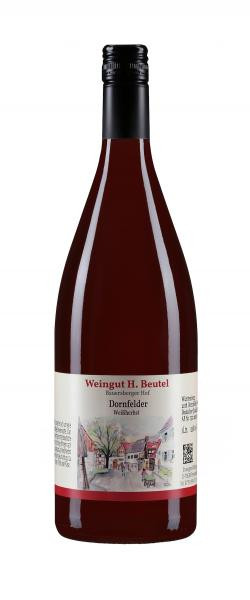 2017 Dornfelder Weißherbst Kabinett feinherb 1,0 l - Weingut H.Beutel